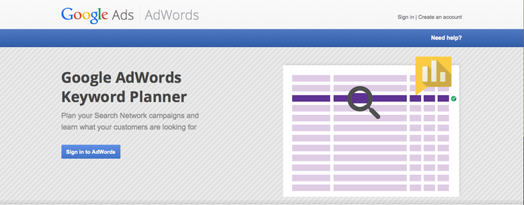 Keyword Planner SEO tool to improve your seo